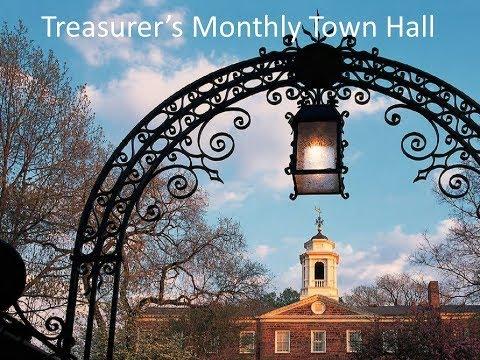 Treasurer's Town Hall November 7th, 2017