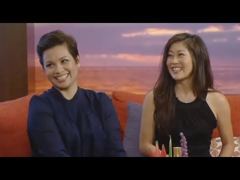 Lea Salonga and Kristi Yamaguchi Chat Golden Moment Event on Hawaii News Now