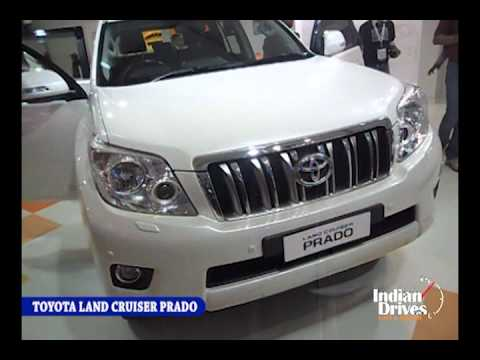 Toyota Land Cruiser Prado First Look, interior & Exterior Review