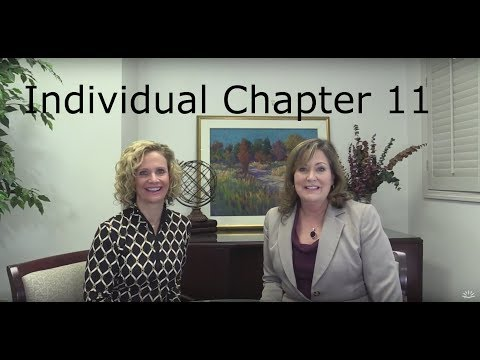 The individual chapter 11 bankruptcy