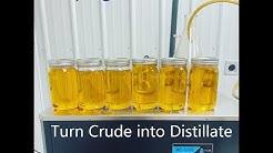 Turn your CBD crude oil into sellable CBD distillate [output 5L/hr]