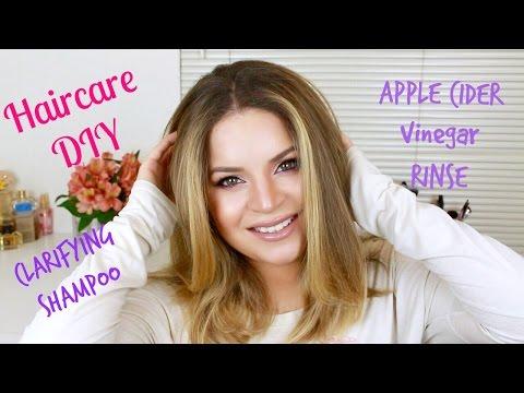 hair-care-diy- -clarifying-shampoo-&-apple-cider-vinegar-rinse