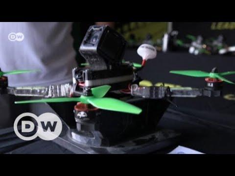 Drohnen-Rennen als Profisport