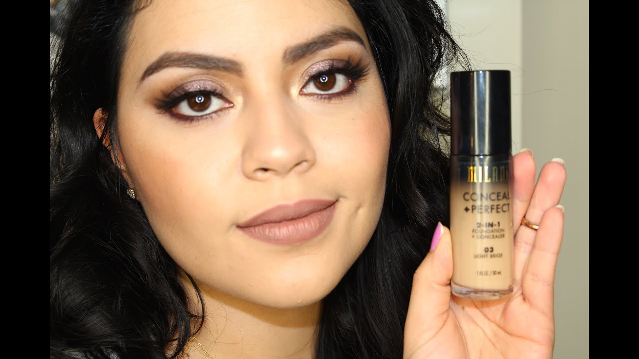 Milani conceal perfect 2 in 1 foundation review amp demo youtube