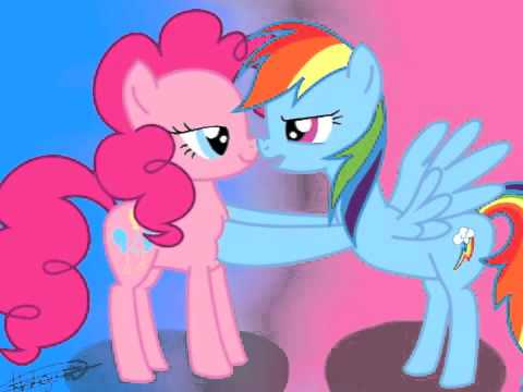 Pinkie Pie X Rainbow Dash Tribute - Every Time We Touch ...