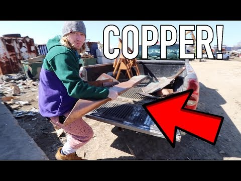 Huge COPPER Scrap Metal Claim!