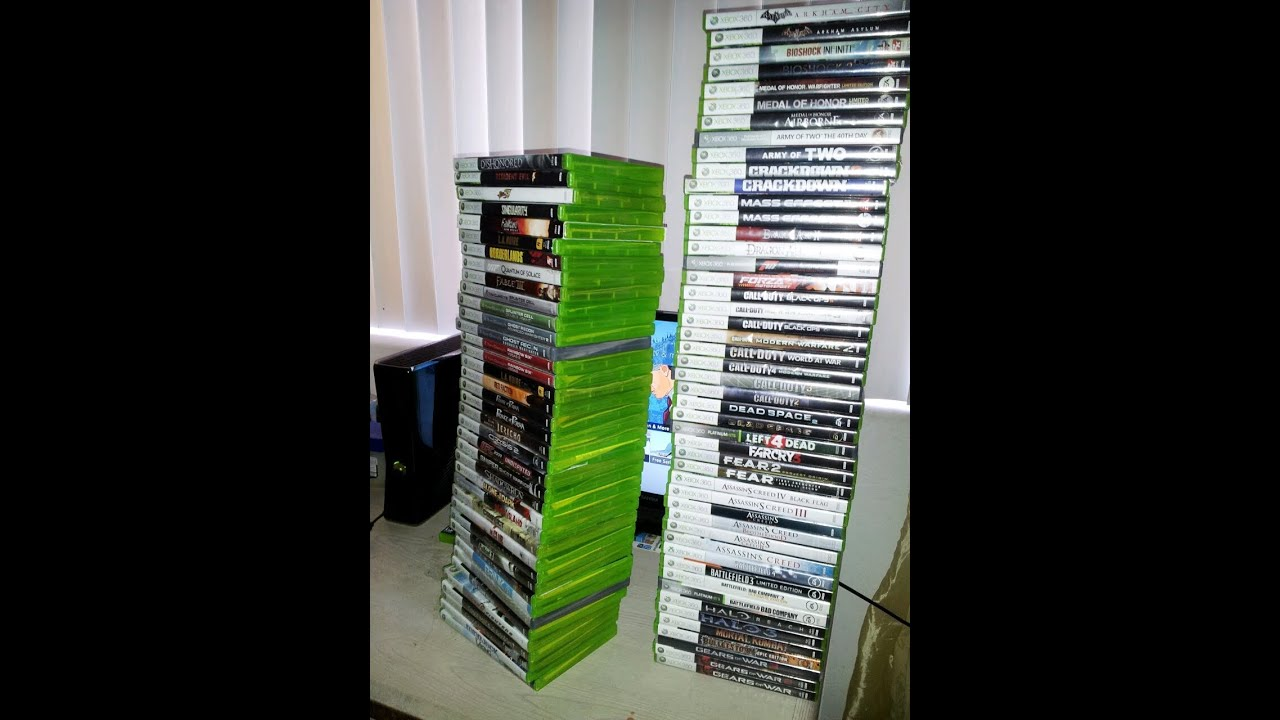 Xbox 360 Games Collection My Xbox 360 gam...