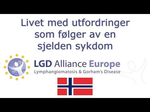 Å leve med Lymfangiomatose eller Gorhams Sykdom - LGD Alliance Europe