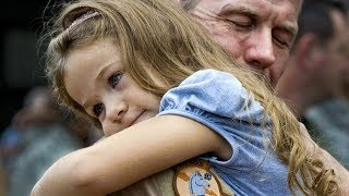 Heartwarming Cute Babies & Kids's Reaction when Daddy coming home  Compilation