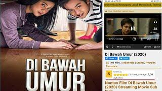 CARA DOWNLOAD FILM DIBAWAH UMUR FULL MOVIE HD (2020)