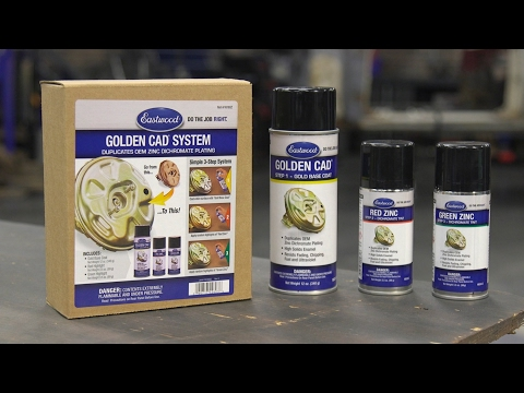 Replicate The Look Of Golden CAD Plating In 3 Easy Steps! - Golden CAD Complete Kit - Eastwood