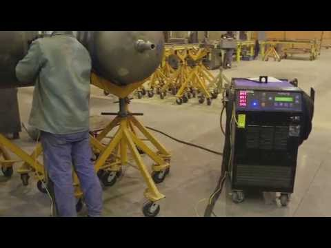 Easily Achieve Targeted Preheat Temperatureson Moving Parts Using Induction Heating From Miller