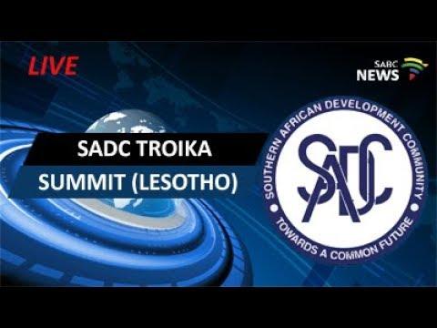 SADC Troika summit (Lesotho)