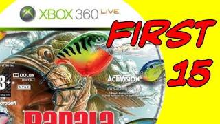 Rapala Fishing Xbox 360 - First 15
