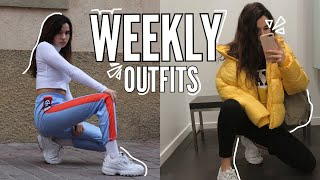 OUTFITS SEMANALES | Dare to Dream