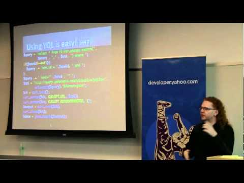 Christian Heilmann: YQL and YUI: Building Blocks for Quick Applications