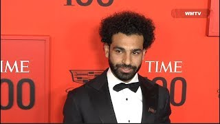 Mohamed Salah arrives at 2019 Time 100 Gala