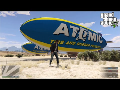 GTA 5 Online | Blimp And Cargo Plane...