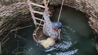 100 फीट गहरे कुएं में डूब रहे बेजुबान को बचाने के लिए दाँव पर लगाई अपनी जान| Man risked his life to?