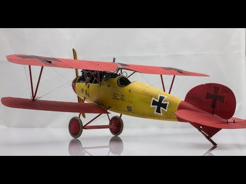 1:32 Wingnut Wings Albatros D.V | Step by Step Scale Model Aircraft Build