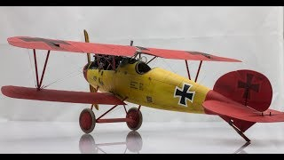 1:32 Wingnut Wings Albatros D.V   Step by Step Scale Model Aircraft Build thumbnail