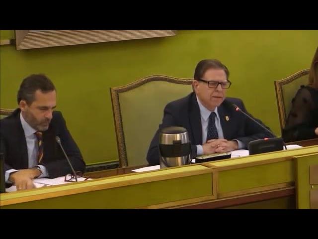Pleno Municipal 3 diciembre 2019