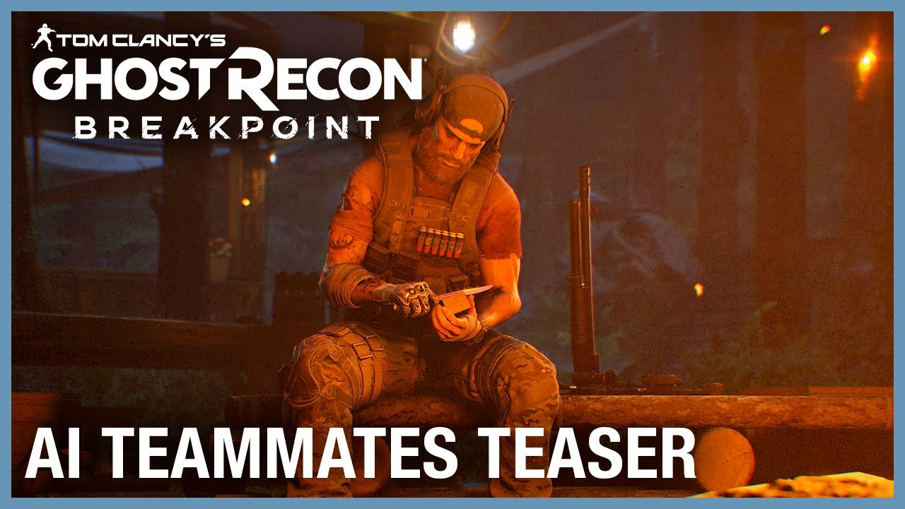 Tom Clancy's Ghost Recon Breakpoint: AI Teammates Teaser | Ubisoft