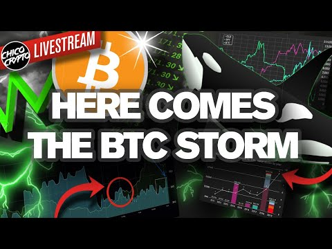 Right Now's The CALM Before Next Weeks BTC STORM!