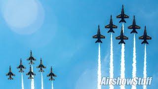 Special Blue Angels and Thunderbirds Joint Flyovers - Baltimore/Washington DC/Atlanta!