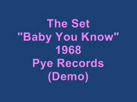 "The Set - ""Baby You Know"" - (1968) - Pye Records (Demo)"