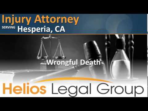 Hesperia Injury Attorney - California