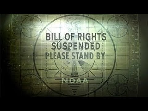 NDAA | Bill of Rights Suspended: Please Stand By