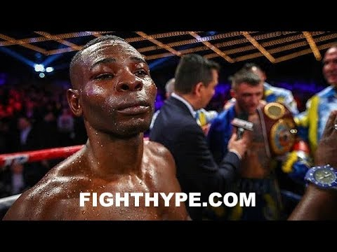 RIGONDEAUX POST-FIGHT INJURY UPDATE; POSSIBLY FRACTURED HAND IN 2ND ROUND
