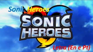 Sonic Heroes Musica Ingles e Portugues