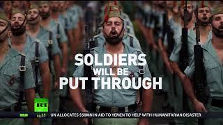 Spanish elite soldiers volunteer for 12-week diet after obesity alarm