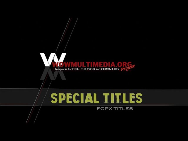 WM Special Titles 1