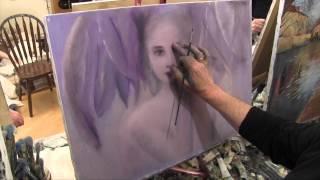Сказочный образ, художник Игорь Сахаров, как научиться рисовать, уроки рисования