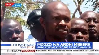 Mzozo wa ardhi mbeere: Ruto atakiwa kusitisha mpango wa vyeti