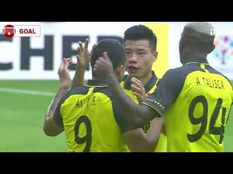 Elkeson perfect freekick Goal 36' - Vissel Kobe 0 - [2] Guangzhou Evergrande