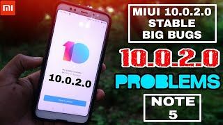 Miui 10.0.2.0 Stable    Big Bugs & Battery Issue    Redmi Note 5/Plus    Important Information