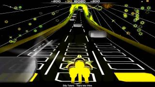 Audiosurf: Billy Talent - Tears into Wine [Ninja Mono]