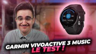 GARMIN VIVOACTIVE 3 MUSIC : Test et retour d'expérience après 2 semaines d'utilisation ⌚⚡⌚
