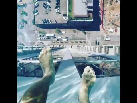 crazy sky swimming pool