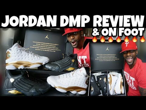 😲MG THESE ARE FIRE 🔥🔥 JORDAN DMP PACK REVIEW & ON FOOT!!!