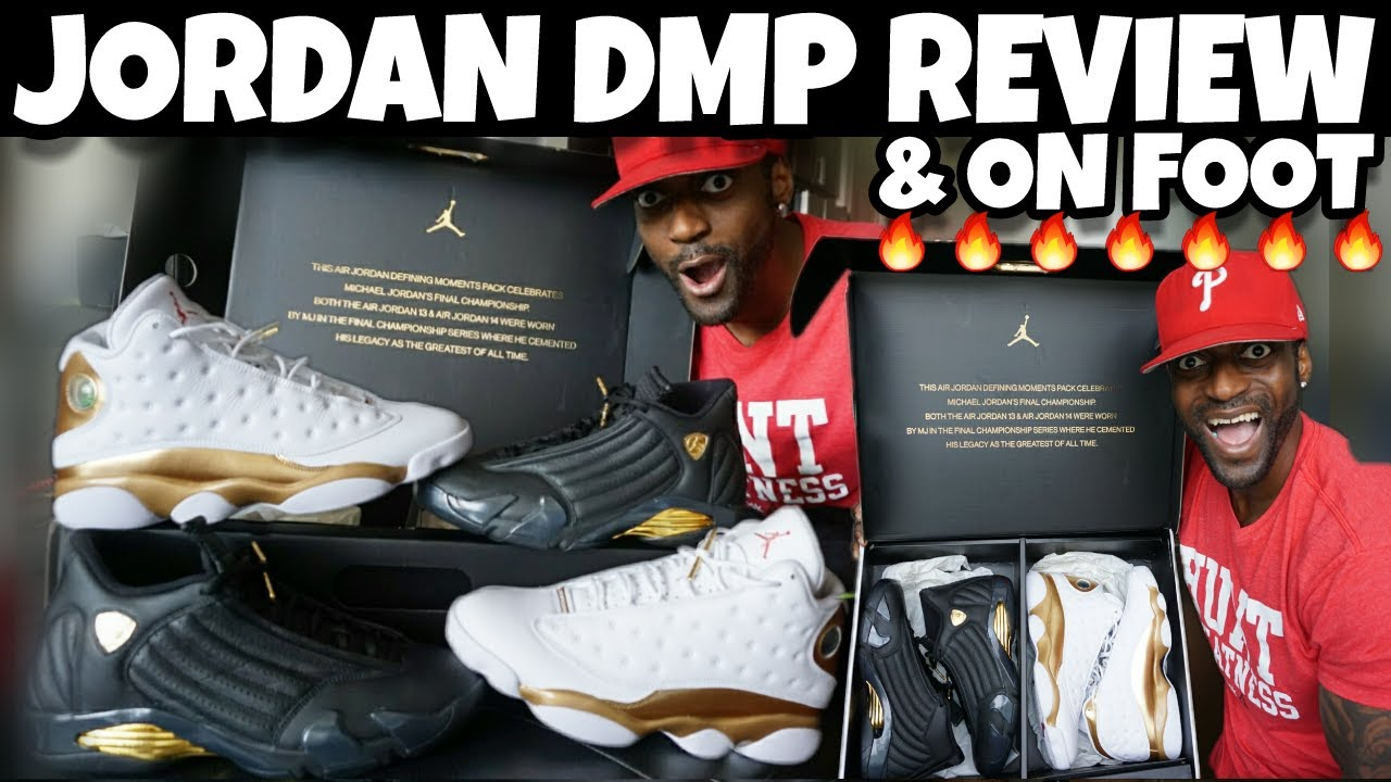 6f4aba34810016 JORDAN 13 14 DMP PACK ARE 🔥🔥🔥 REVIEW   ON FOOT!!! 🔥 - YouTube