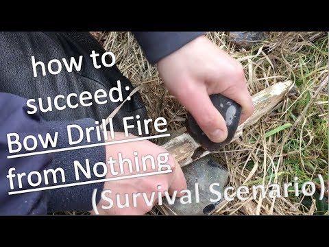 how to succeed: nbow drill fire nfrom Nothing nn(Survival Scenario)
