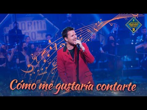 Por primera vez en directo Dani Martín canta 'Cómo me gustaría contarte' - El Hormiguero