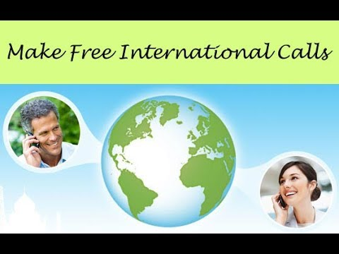 Free international calls without any recharge/top up credits