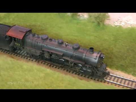 Modelleisenbahn der Stuttgart Model Railroaders in Spur H0