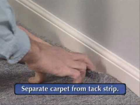 Pulling cable under Carpet - Magnepull Training Video - YouTube on